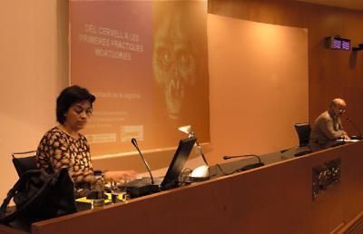 Se presentan en Tarragona los proyectos de investigación de Fundación Mona dentro de una conferencia sobre la Evolución de la Cognición Humana